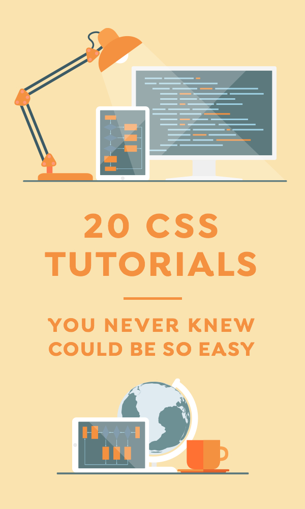 20 CSS Tutorials That You Never Knew Could be So Easy ~ Creative