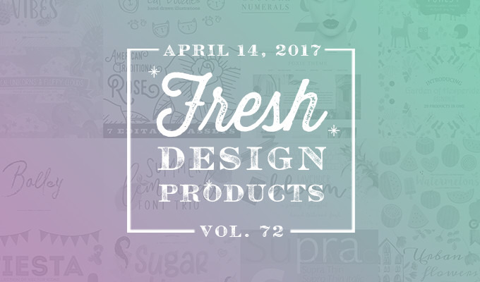 This Week's Fresh Design Products: Vol. 72