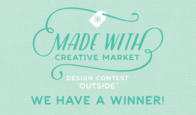 """Made With Creative Market """"Outside"""" Contest: Winner Announcement"""