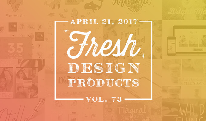This week 39 s fresh design products vol 73 creative for Fresh design blog