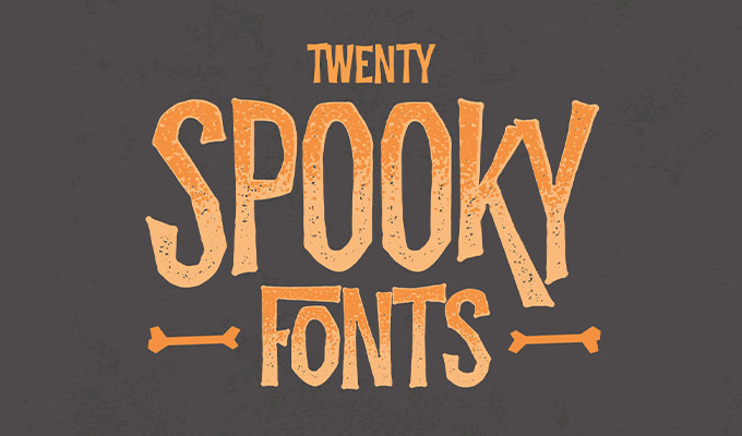 20 Creepy Fonts for Your Spooky Design Needs ~ Creative