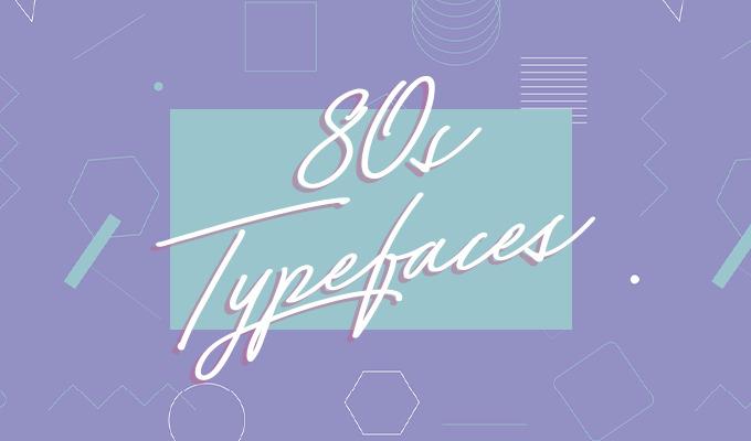 20 Perfect 1980's Typefaces to Evoke Nostalgia ~ Creative
