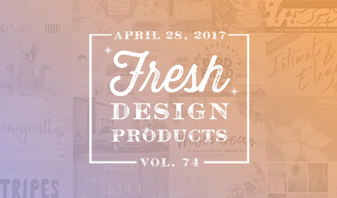 This Week's Fresh Design Products: Vol. 74