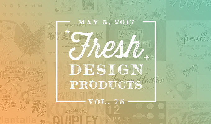 This Week's Fresh Design Products: Vol. 75