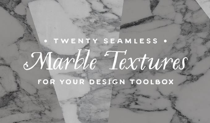 20 Seamless Marble Texture Sets For Your Design Toolbox