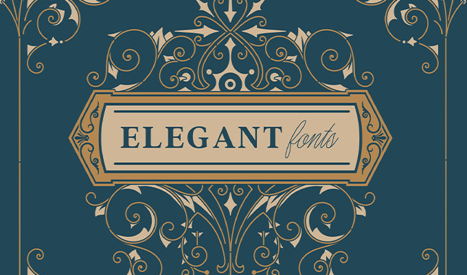 Elegant Fonts To Add A Touch Of Luxury Creative Market Blog - Luxury go to market presentation scheme