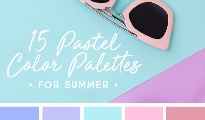 15 Downloadable Pastel Color Palettes For Summer Creative Market Blog