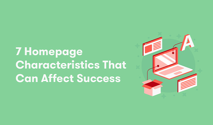 How Homepage Characteristics Can Affect Success: New Data