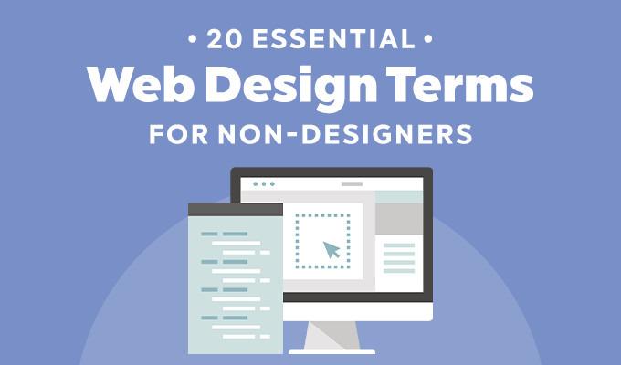 20 Essential Web Design Terms for Non-Designers