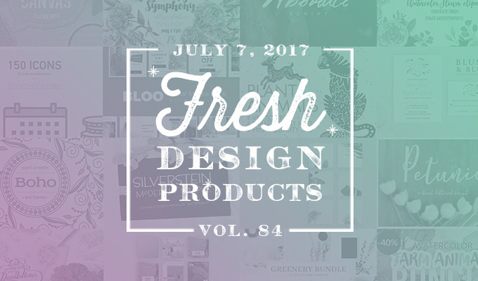 This Week's Fresh Design Products: Vol. 84