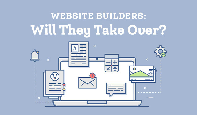 Will Website Builders Take Over? The Debate Is On