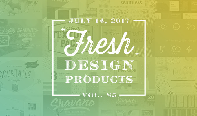 This Week's Fresh Design Products: Vol. 85