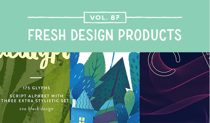This Week's Fresh Design Products: Vol. 87
