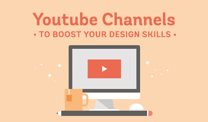 10 Amazing YouTube Channels to Boost Your Graphic Design