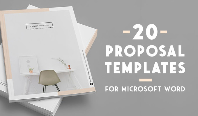 20 Creative Business Proposal Templates You Wonu0027t Believe Are Microsoft Word  Ms Word Proposal Template