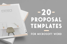 20 Creative Business Proposal Templates You Won&#039&#x3B;t Believe Are Microsoft Word