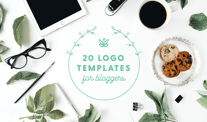 20 Stunning Ready-to-Use Blog Logo Templates