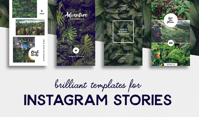 20 Brilliant Instagram Story Templates for Brands & Bloggers