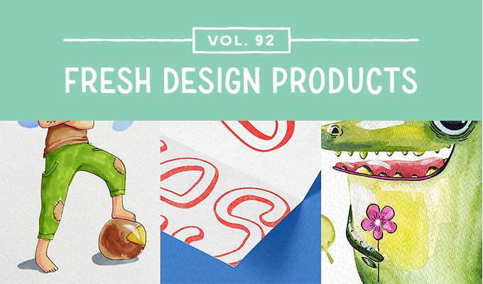 This Week's Fresh Design Products: Vol. 92