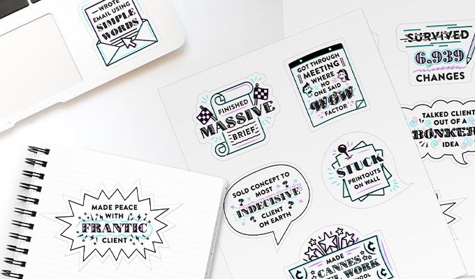 Professional Designer Stickers