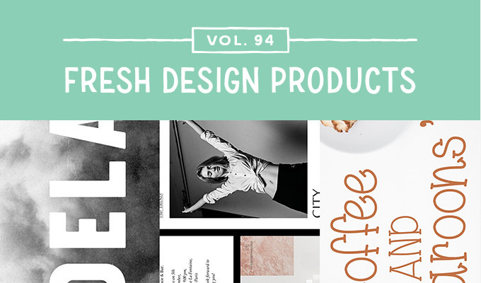 This Week's Fresh Design Products: Vol. 94