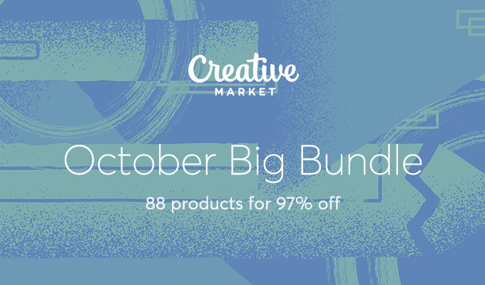 October Big Bundle: Over $1,300 in Design Goods For Only $39!