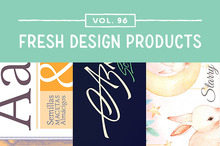 This Week&#039&#x3B;s Fresh Design Products: Vol. 96