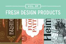 This Week&#039&#x3B;s Fresh Design Products: Vol. 97