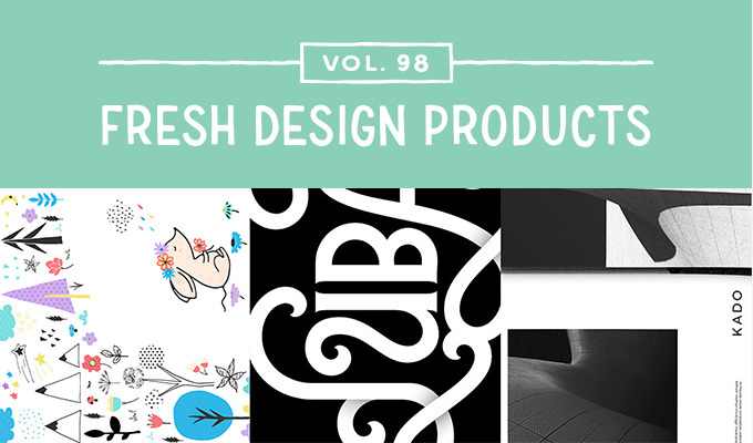 This Week's Fresh Design Products: Vol. 98