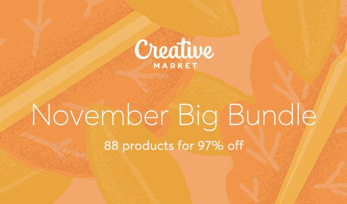 November Big Bundle: Over $1300 in Design Goods For Only $39!