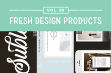 This Week&#039&#x3B;s Fresh Design Products: Vol. 99