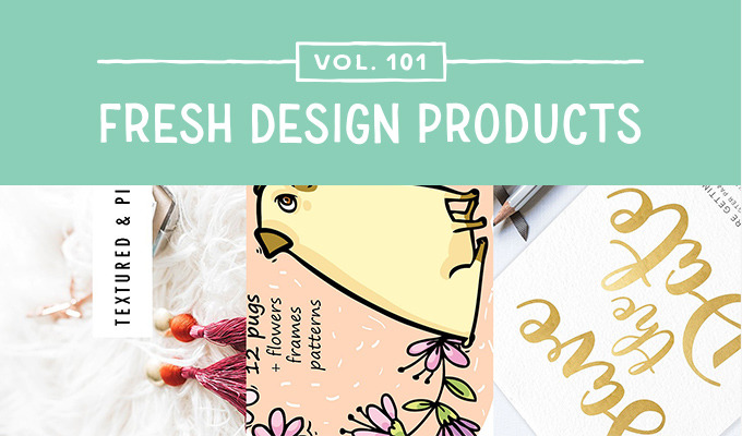This Week's Fresh Design Products: Vol. 101