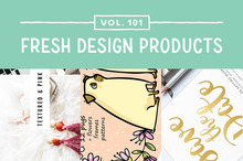 This Week&#039&#x3B;s Fresh Design Products: Vol. 101