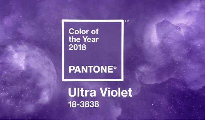 Meet Ultra Violet: Pantone