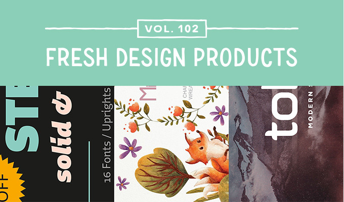 This Week's Fresh Design Products: Vol. 102