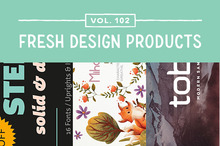 This Week&#039&#x3B;s Fresh Design Products: Vol. 102