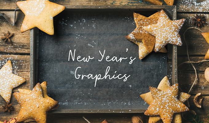 Stunning New Year's Graphics: A Curated Collection of Quotes, Photos and Cards