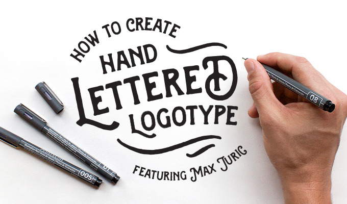 How to Create a Hand Lettered Logotype