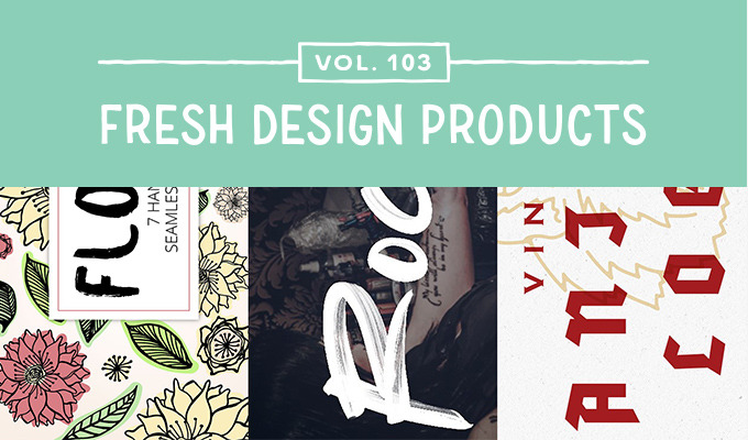 This Week's Fresh Design Products: Vol. 103