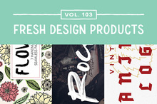 This Week&#039&#x3B;s Fresh Design Products: Vol. 103