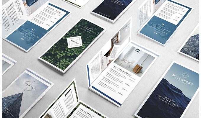 20 Professional Tri-fold Brochure Templates To Help You Stand Out