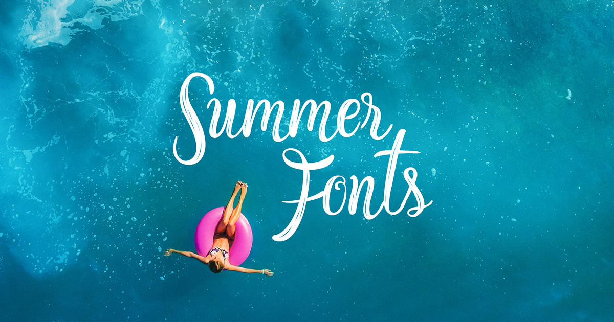 c45238db5595 50 Fresh Summer and Beach Fonts ~ Creative Market Blog