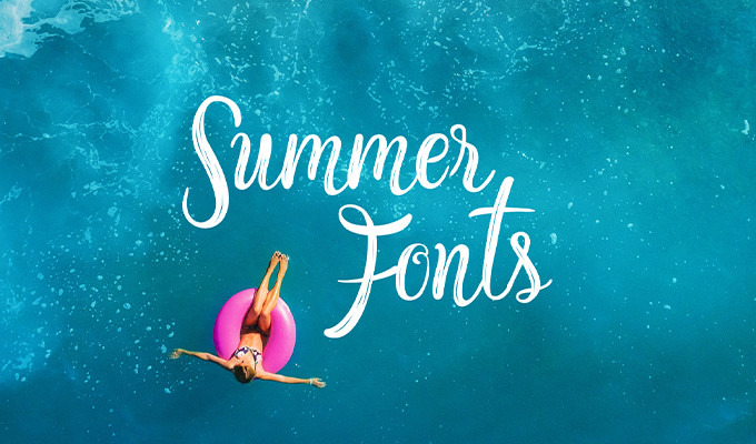 50 Fresh Summer and Beach Fonts