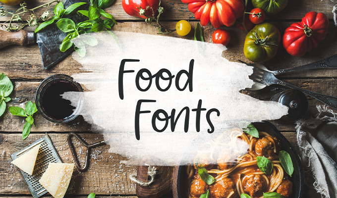 30 Food Fonts That Are Good Enough To Eat