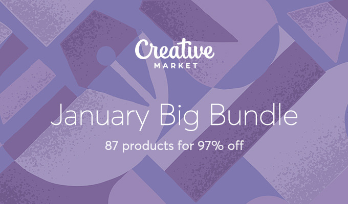January Big Bundle: Over $1557 in Design Goods For Only $39!