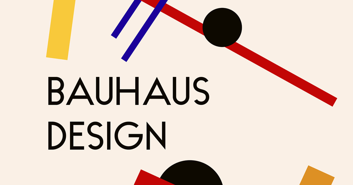 design trend the bauhaus design movement creative market blog. Black Bedroom Furniture Sets. Home Design Ideas