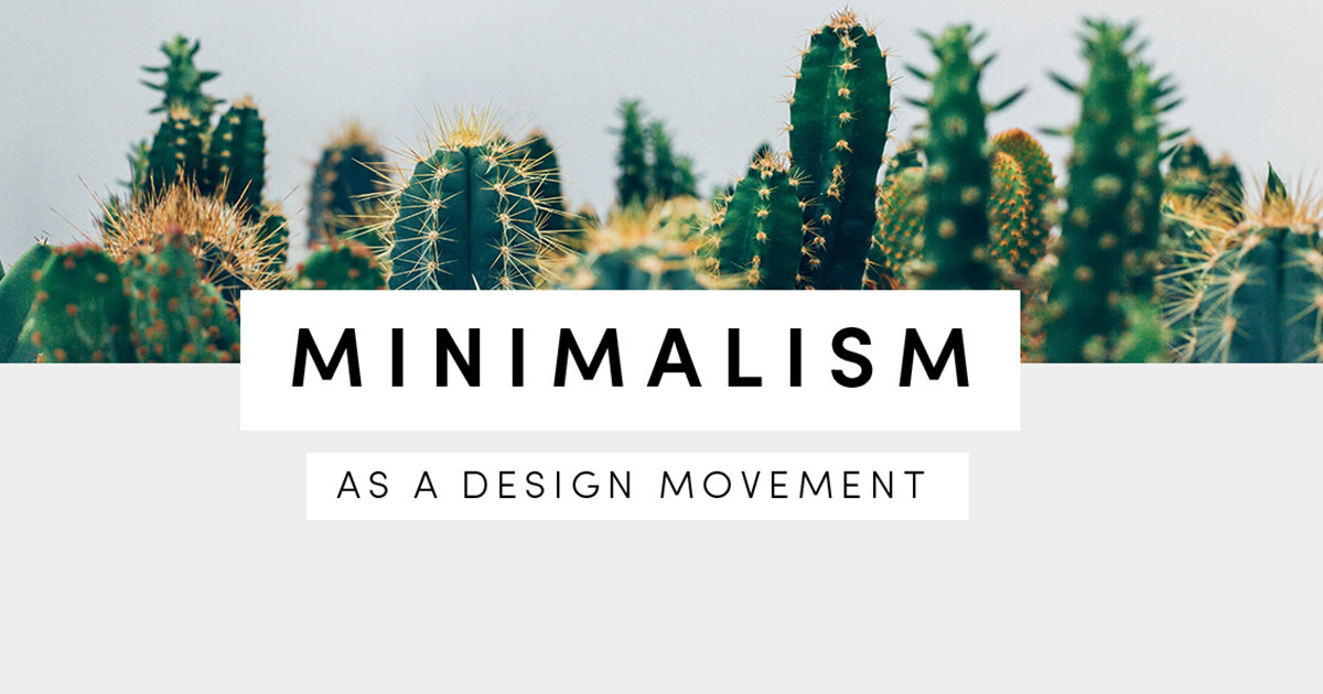 The Minimalist Design Trend Why Less Is More Creative Market Blog