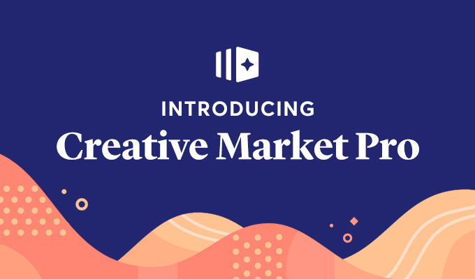 Introducing Creative Market Pro