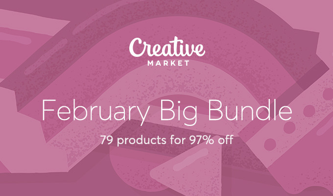 February Big Bundle: Over $1,386 in Design Goods For Only $39!