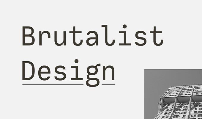 The Brutalist Web Design Trend
